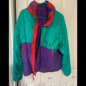 Woolrich vintage 3 in 1 insulated jacket
